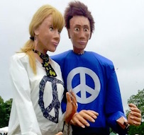 Cindy and Big Sandy, Scottish CND puppets